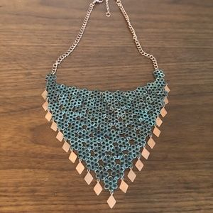 Gorgeous Blue/ Green Cooper necklace